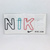 NIKE Letter Shaped Paper Clip Set - 100% Authentic - Brand New