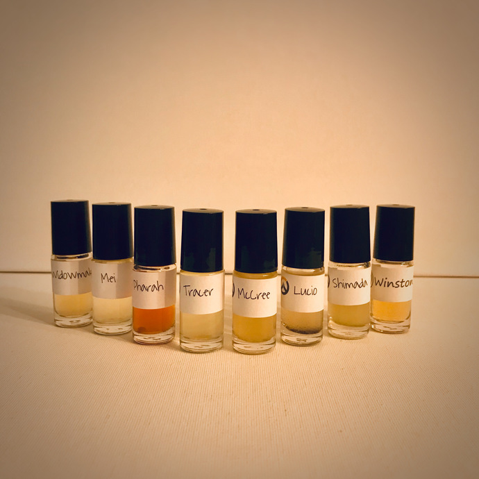 Overwatch Perfumes