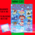 Rudolph the Red Nose Reindeer Mini C2C 14 Patterns include graph with color
