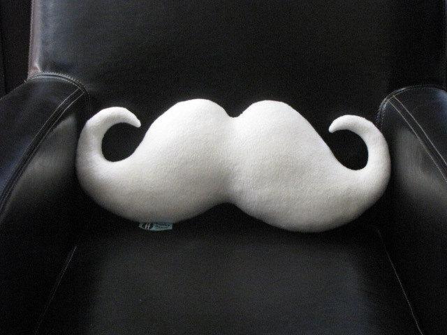 Moustache Pillow - Santa