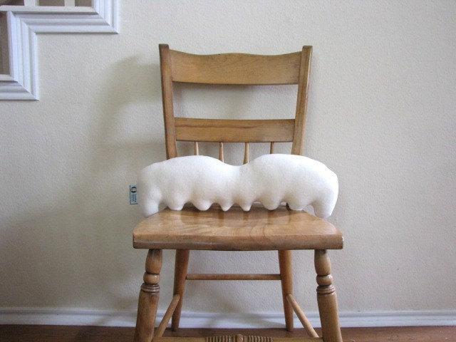 Moustache Pillow - Genius