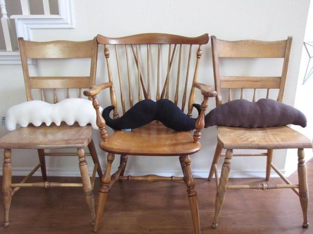 Moustache Pillows - Pick 3 and Save