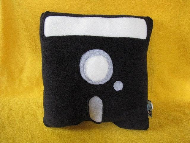 Floppy Disk Pillow - 5-1/4 Inch