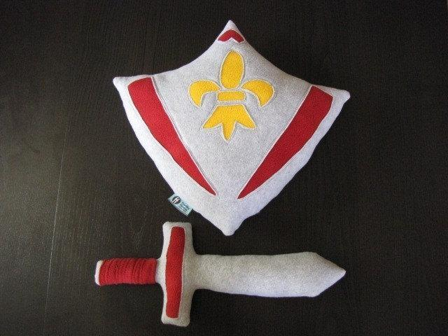 Shield and Sword Set - CUSTOMIZABLE