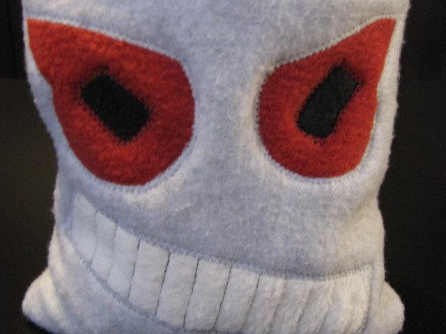 Drawstring Pouch Dice Bag - Evil Robot