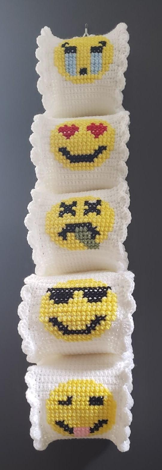 Emoji Toilet Roll Holder