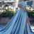 A-line Off-the-Shoulder Satin Glamorous Long Evening Dress With Slit