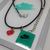Nike Air Max Day Necklace / Bracelet (05) - Pendants on Black Leather Cord