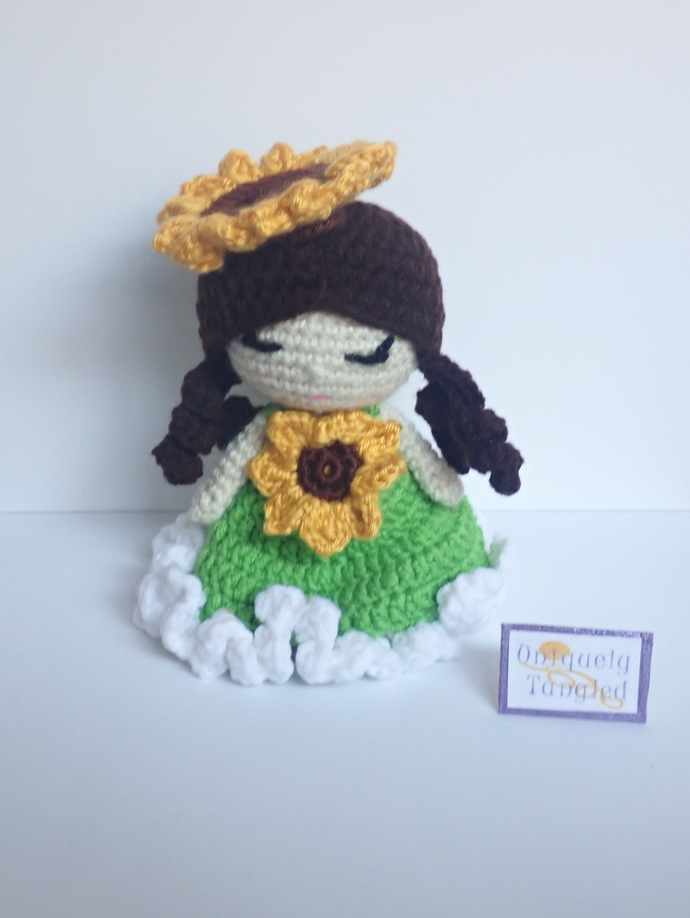 Adorable Sunflower Doll Crochet Pattern By Havva Designs | 918x690