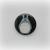 Totoro Dark - My Neighbor Totoro - Pinback Button Magnet Keychain Flatback Badge