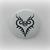 Trafalgar Law Heart - One Piece - Pinback Button Magnet Keychain Flatback Badge