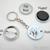 The Atomic Symbol for Sherlock - Literature - Pinback Button Magnet Keychain
