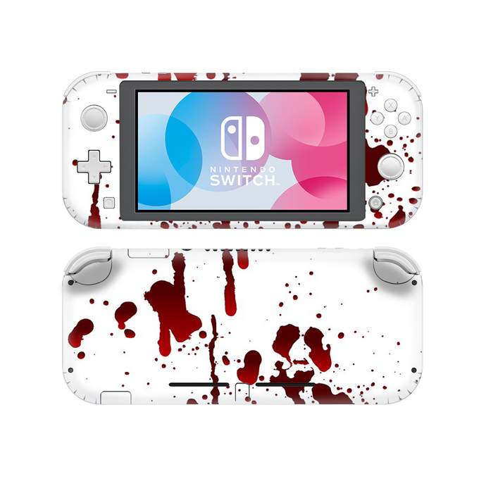 Blood drops Nintendo switch lite Skin
