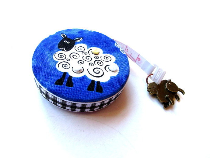 Tape Measure Blue Sheep Small Retractable Measuring Tape