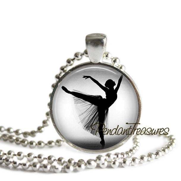BALLERINA Necklace, Ballerina Jewelry, Ballerina Pendant, Ballerina Jewelry,
