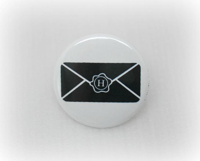 Hogwarts Letter - Harry Potter - Pinback Button Magnet Keychain Flatback Badge