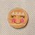 Gingerbread Girl 4 pc set UNCUT FELTIES