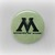 Ministry Of Magic - Harry Potter - Pinback Button Magnet Keychain Flatback Badge
