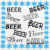 Beer Words 1-Digital ClipArt-PNG-Art Clip-Gift