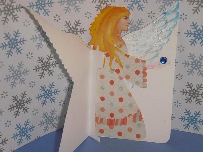 Angel Gift Card Holder