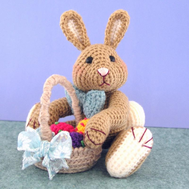 Crochet Pattern Harvey Thumper Easter Bluebearytreasures