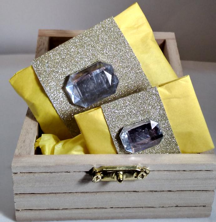 Girl's Flower Statement Stretch Bracelet Polymer Clay jewelry kid's gift