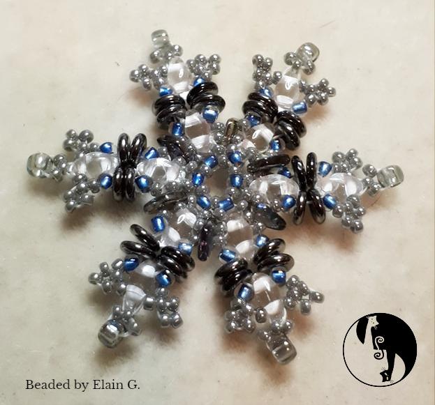 Snowflake Pendant/Earring Tutorial