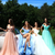 Tulle Off-the-shoulder Neckline A-line Prom Dress With Beadings