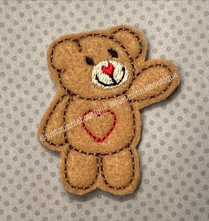 TEDDY BEAR 4 pc UNCUT