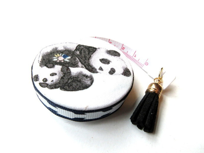 Measuring Tape Sleeping Pandas Small Retractable Tape Measure