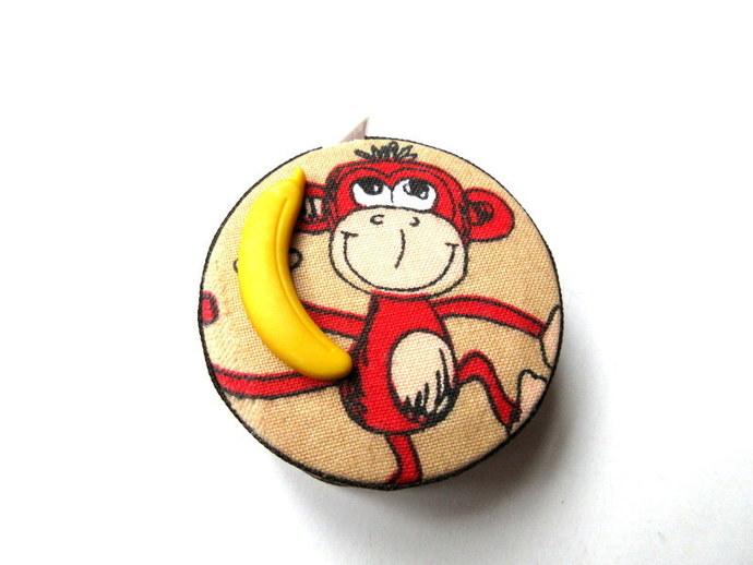 Tape Measure Fun Loving Monkeys Small Retractable Measuring Tape