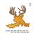 Deer Head Applique embroidery design,Deer head embroidery pattern No 1127... 3
