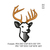 Copy of Deer head Embroidery design,Deer head embroidery pattern No 1108... 3