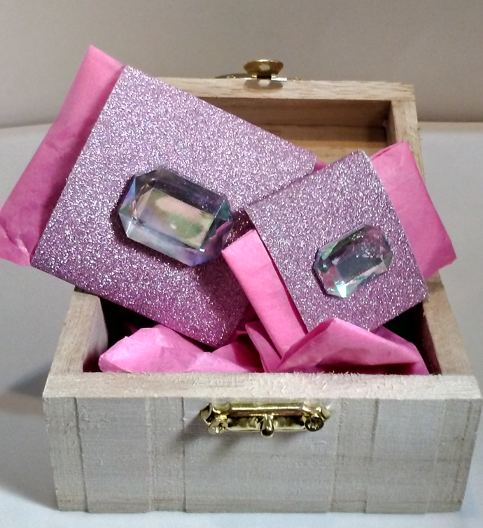 Girl's Pink Polka Dot Purse Bracelet barbie style kid's jewelry