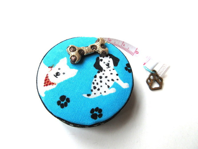 Retractable Small Measuring Tape Assorted Dogs Small Tape Measure
