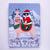 Santa Claws and His Llama Original Cat Folk Art Painting