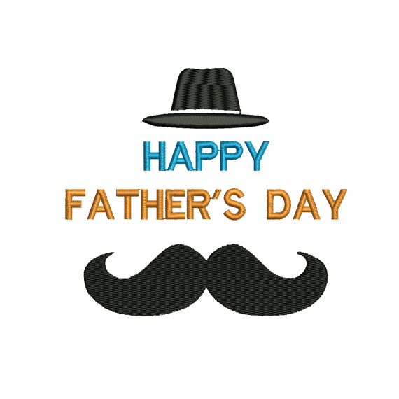 Happy Fathers Day embroidery design,dad Embroidery Design, Father love