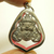 Rahu om Jun Moon eater Eclipse Thai real amulet pendant bless for wealth rich