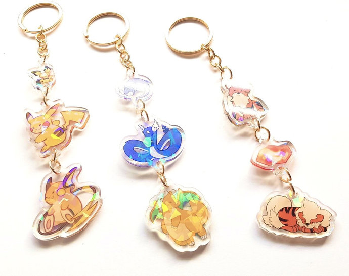 Pokemon EVOLUTION Link charms