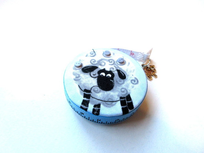 Measuring Tape Curly Sheep RetractableTape Measure