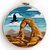 Arches national park counted cross stitch pattern - Cross Stitch Pattern