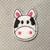 Cow Feltie 4 pc set UNCUT