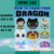 How to train your Dragon Mini C2C 10 Patterns include Graph s & Color Charts