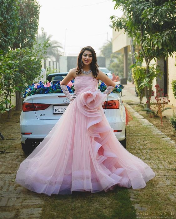 Gorgeous Long Prom Dress Pink Prom Dress