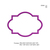 Applique Frame Embroidery design,embroidery pattern N° 995...3 sizes