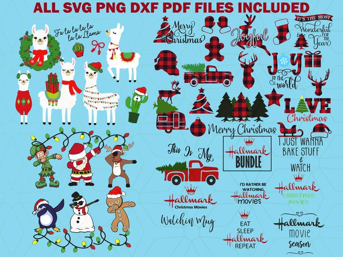 Merry Christmas svg bundles ,Christmas svg, Christmas gift, Christmas print,