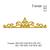 Decorative frame elegant royal frame embroidery , frame embroidery design,