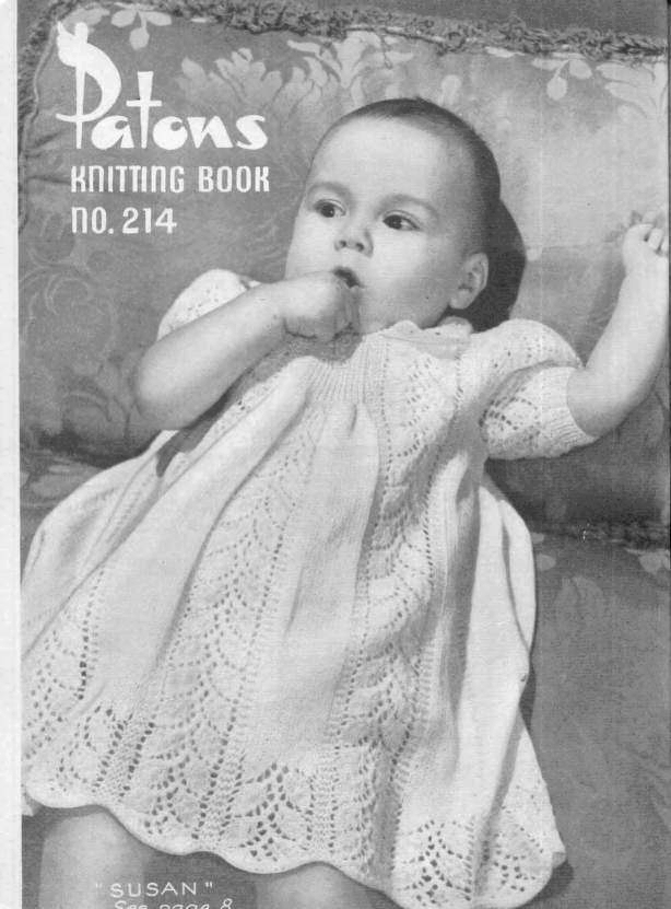 Instant PDF Digital Download Vintage Row by Row Knitting Pattern Booklet Patons