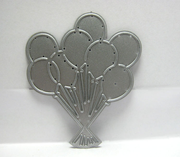 Balloon Metal Cutting Die Birthday Balloons Die Cuts