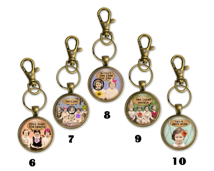 Best Friend Key chains, gift under $20, gift for her, fun gag gift, purse